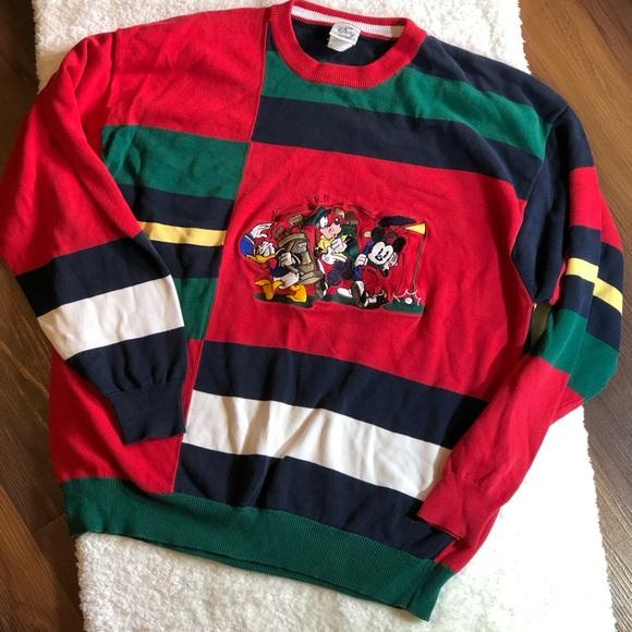 860c58e94d5 Vintage Color Block Disney Shirt Golfing Crew L. M_5c2f9cc2d6dc521141b5331a